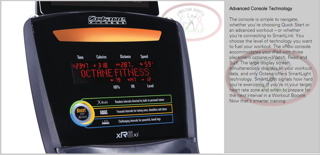 Octane_Fitness_XR6_ADvanced_Console_Tech